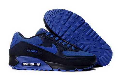 Nike Air Max 90 Mens Shoes Obsidian Royal Portugal