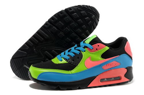 Nike Air Max 90 Mens Shoes Orange Black Green Japan