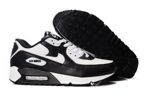 Nike Air Max 90 Mens Shoes White Black Low Cost