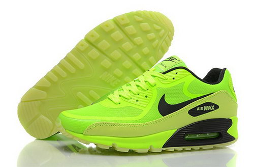 Nike Air Max 90 Prem Tape Mens Shoes Glowing Bling Green Black Canada