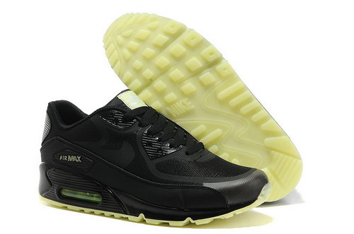 Nike Air Max 90 Prem Tape Unisex All Black Running Shoes Coupon Code