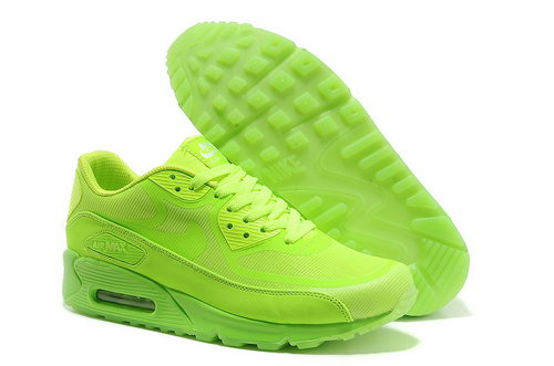 Nike Air Max 90 Prem Tape Unisex All Green Running Shoes Switzerland