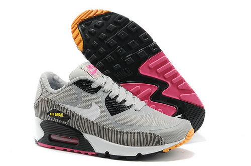 Nike Air Max 90 Prem Tape Women Gray White Runnig Shoes Discount