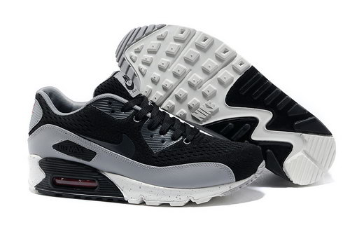 Nike Air Max 90 Premium Em Men Gray Black Running Shoes Promo Code