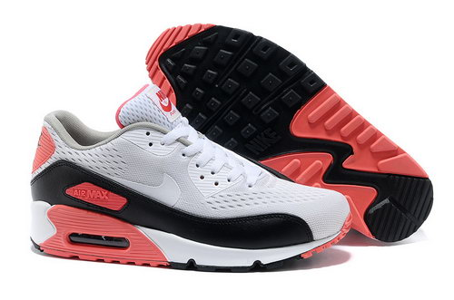 Nike Air Max 90 Premium Em Unisex Pink White Running Shoes Low Cost