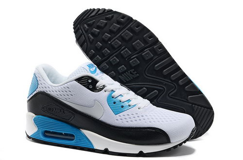Nike Air Max 90 Premium Em Unisex White Black Running Shoes On Sale