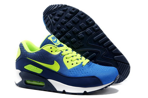 Nike Air Max 90 Prm Em Men Green And Blue Sports Shoes Ireland