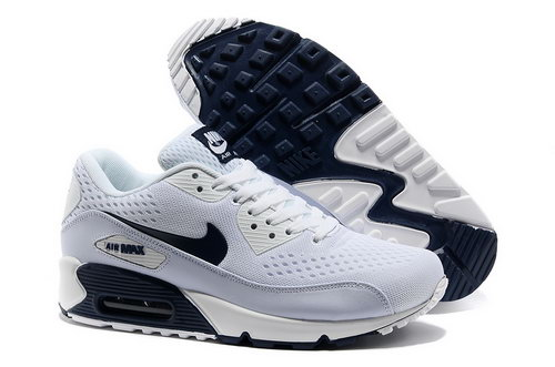 Nike Air Max 90 Prm Em Men White And Black Sports Shoes Greece