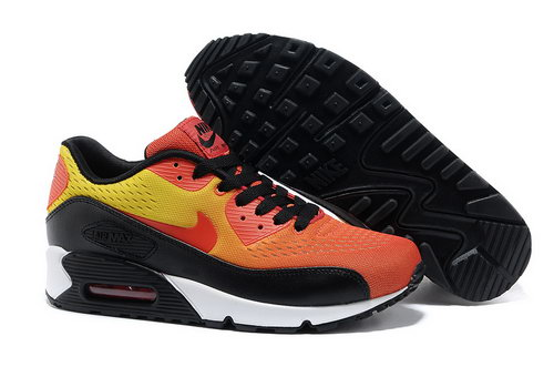 Nike Air Max 90 Prm Em Unisex Orange Black Casual Shoes New Zealand
