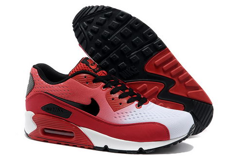 Nike Air Max 90 Prm Em Unisex Red And Black Sports Shoes Factory