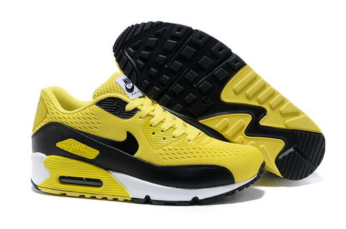 Nike Air Max 90 Prm Em Unisex Yellow Black Casual Shoes Factory Outlet