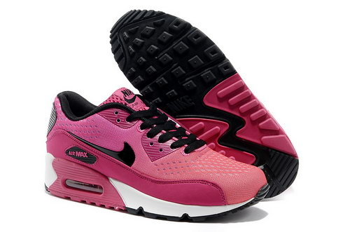 Nike Air Max 90 Prm Em Women Blakc And Pink Sports Shoes Uk