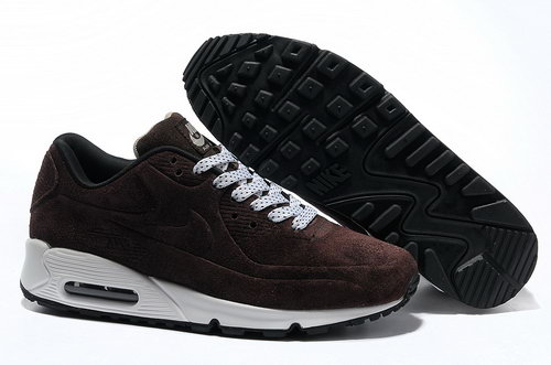 Nike Air Max 90 Vt Men Brown White Running Shoes Japan