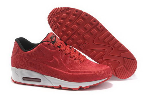 Nike Air Max 90 Vt Mens Shoes China Red Closeout