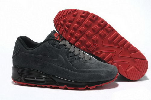 Nike Air Max 90 Vt Mens Shoes Premium Anthracite Red Low Cost