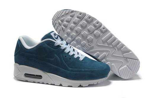 Nike Air Max 90 Vt Unisex Blue White Running Shoes Wholesale