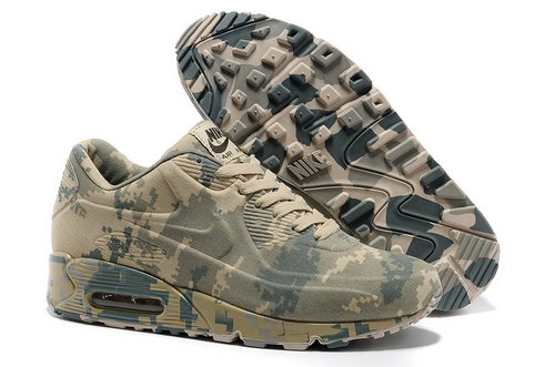 Nike Air Max 90 Vt Unisex Colorful Beige Green Running Shoes Sale