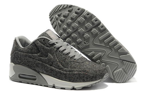 Nike Air Max 90 Vt Unisex Gray White Running Shoes On Sale
