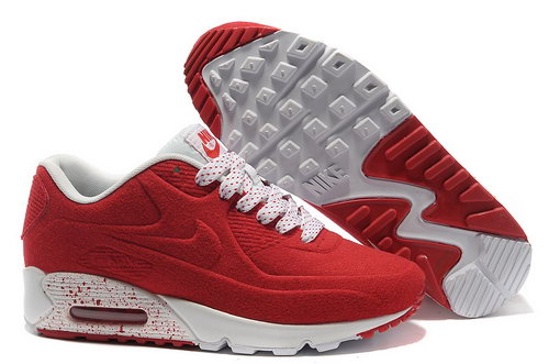 Nike Air Max 90 Vt Unisex Red White Running Shoes Korea