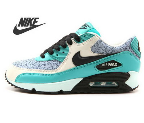 Nike Air Max 90 Womens Black Bright Green Canada