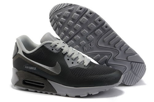 Nike Air Max 90 Womens Black Grey Poland