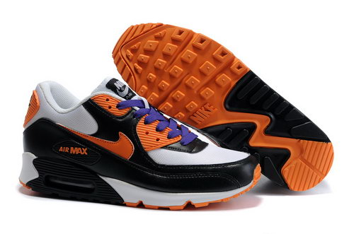 Nike Air Max 90 Womens Black Orange White Coupon Code