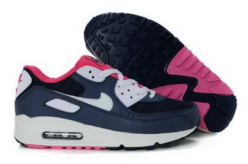 Nike Air Max 90 Womens Shoes Obsidian White Pink Best Price
