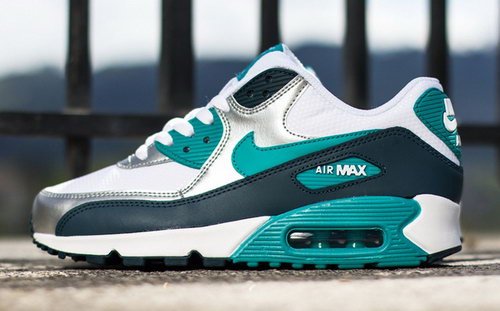 Nike Air Max 90 Womenss Shoes Black White Green Special Outlet Store