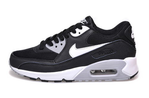 Nike Air Max 90 Womenss Shoes Hot New Black White Gray Ireland