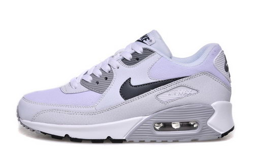 Nike Air Max 90 Womenss Shoes Hot New White Gray France