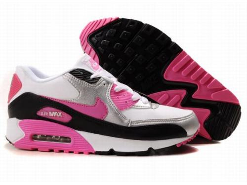 Nike Air Max 90 Womenss Shoes Wholesale Red White Gray Canada