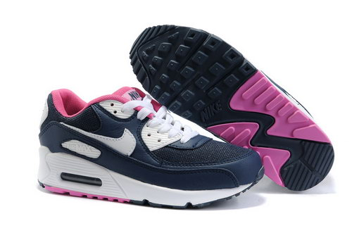 Nike Air Max 90 Womenss Shoes Wholesale White Brown Pink Portugal