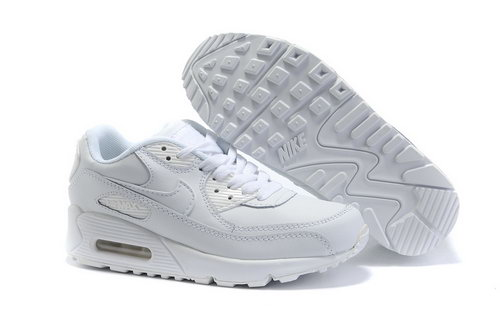 Nike Air Max 90 Womenss Shoes Wholesale White Lightblue Promo Code