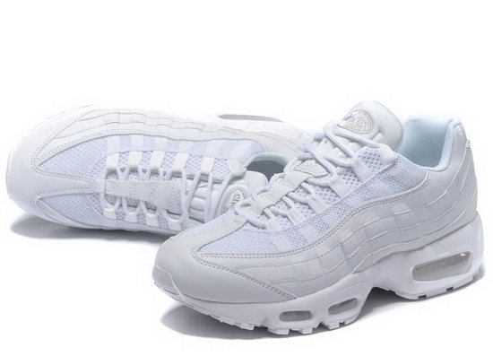 Nike Air Max 95 20th Anniversary All White 40-46 Reduced