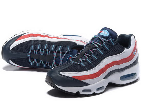 Nike Air Max 95 20th Anniversary Dark Blue White Red 40-46 Hong Kong
