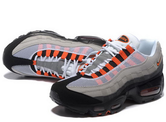 Nike Air Max 95 20th Anniversary Grey Black Orange 40-46 Taiwan