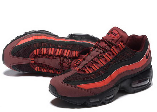 Nike Air Max 95 20th Anniversary Wine Red Black 40-46 Online Shop