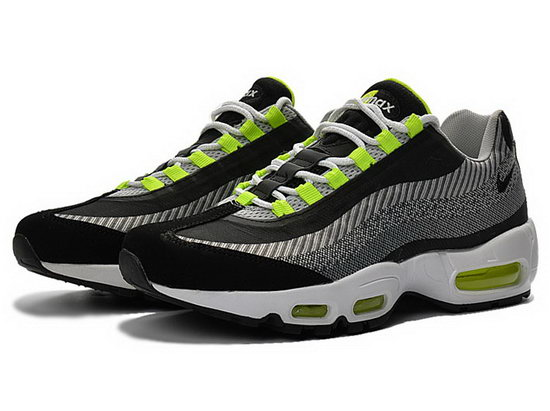Nike Air Max 95 Jacquard Black Grey Green 40-47 Switzerland