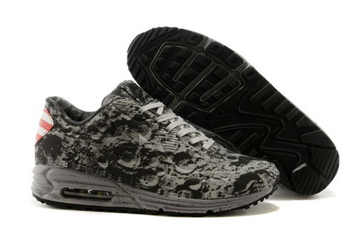 Nike Air Max Lunar 90 Sp Moon Landing Mens Shoes Gray Black Factory Store