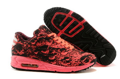 Nike Air Max Lunar 90 Sp Moon Landing Mens Shoes Red Black Outlet Online