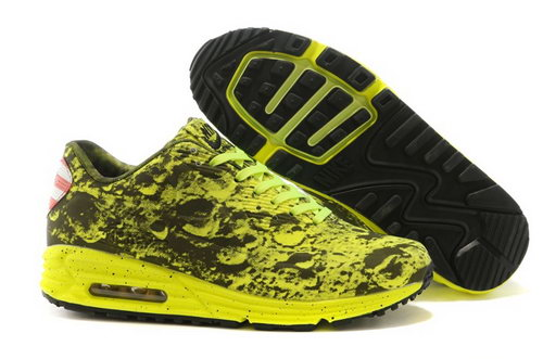 Nike Air Max Lunar 90 Sp Moon Landing Mens Shoes Yellow Black China