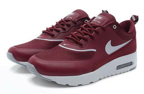 Nike Air Max Thea Womens Burgundy White Usa