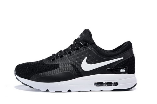 Nike Air Max Zero Women & Mens Unisex Black Outlet Online