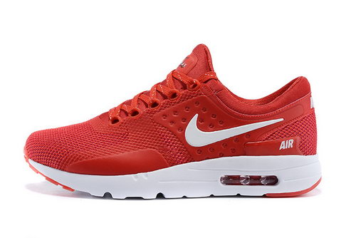 Nike Air Max Zero Women & Mens Unisex Red China