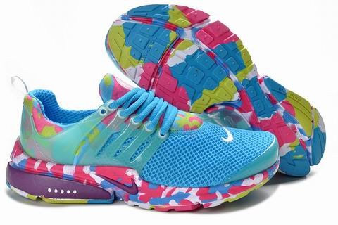 Nike Air Presto Camouflage Womens Sky Blue Purple White Discount Code