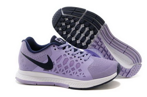 Nike Air Zoom Pegasus 31 Lunar Womens Shoes Light Purple Black White Promo Code