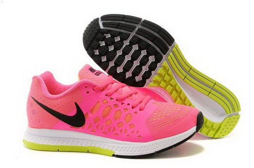 Nike Air Zoom Pegasus 31 Lunar Womens Shoes Peach Red Yellow White Clearance