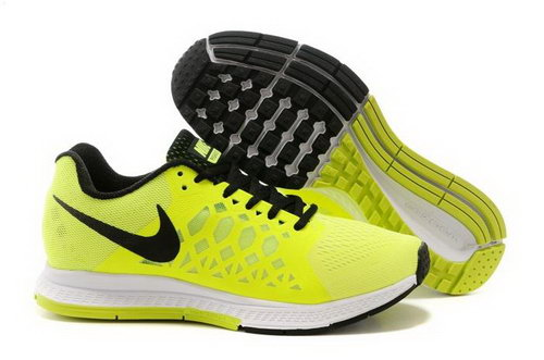 Nike Air Zoom Pegasus 31 Lunar Womens Shoes Yellow Black White Netherlands