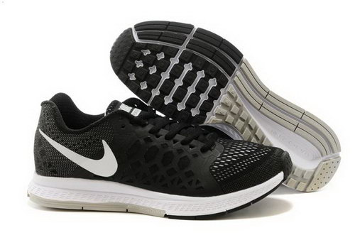 Nike Air Zoom Pegasus 31 Lunar Mens Shoes Black Gray White Sweden