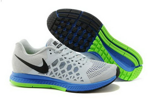 Nike Air Zoom Pegasus 31 Lunar Mens Shoes Gray Black Blue Green Coupon Code
